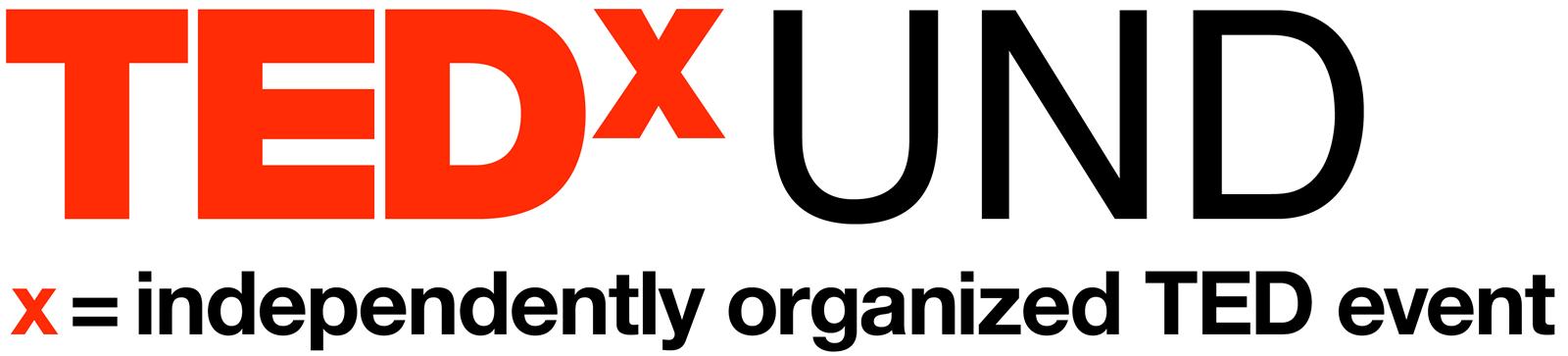 TEDxUND logo
